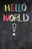 здравствулте! мир стоковое изображение rf