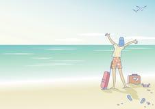 здравствулте! море Стоковые Изображения