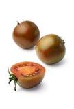 зебра белизны томатов предпосылки экзотическая изолированная стоковая фотография rf
