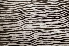 зебра текстуры имитационной кожи предпосылки Стоковые Фото