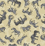 зебры предпосылки Стоковое Изображение RF