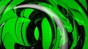 Зеленая абстрактная оживленная предпосылка видеоматериал