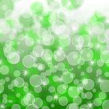 Зеленая абстрактная предпосылка Стоковые Фото