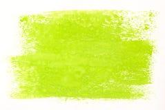 зеленая акварель Стоковое Изображение