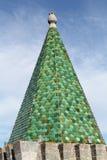 Зеленая башня плитки Стоковые Изображения