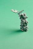 зеленая башня Стоковая Фотография