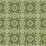 зеленая безшовная текстура Стоковые Изображения RF