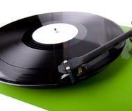 зеленая белизна turntable Стоковое Изображение RF