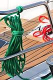 зеленая веревочка Стоковые Изображения RF