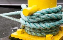 зеленая веревочка Стоковые Фотографии RF