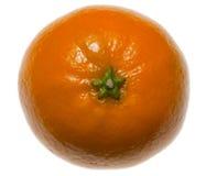 зеленая верхняя часть tangerine звезды Стоковое Фото