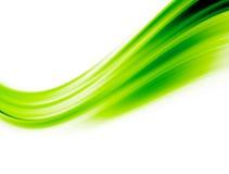 зеленая волна Стоковое Изображение