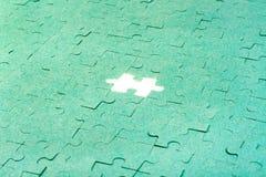 зеленая головоломка Стоковое Изображение