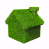 зеленая дом Стоковые Изображения
