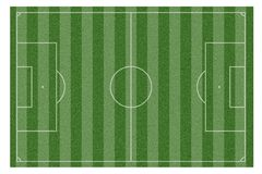Зеленая естественная трава футбольного поля бесплатная иллюстрация