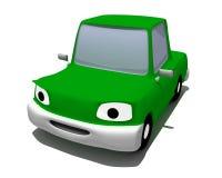 зеленая живущая машина Стоковое Изображение RF