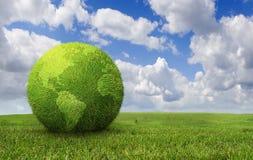 зеленая земля Стоковое фото RF