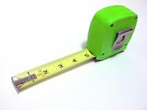зеленая измеряя лента Стоковые Изображения