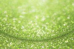 Зеленая изумрудная предпосылка яркого блеска Стоковые Фотографии RF