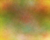 Зеленая и померанцовая текстурированная предпосылка Стоковое фото RF