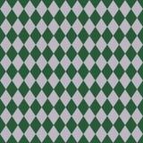 Зеленая и серебряная безшовная картина иллюстрация штока