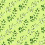 Зеленая картина листвы Стоковые Фото