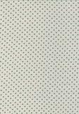 Зеленая картина сбора винограда многоточия польки на текстуре ткани Стоковые Изображения