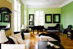 зеленая комната Стоковое Изображение RF