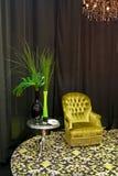 зеленая комната Стоковая Фотография
