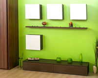 зеленая комната Стоковое фото RF