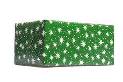 Зеленая коробка подарка Стоковое Изображение RF