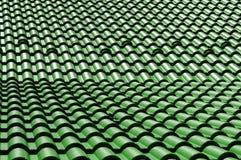 зеленая крыша Стоковые Фото