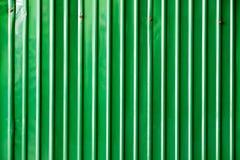 Зеленая металлическая пластина цинка в внешнем Стоковое Изображение RF