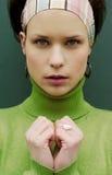 зеленая милая стоковое изображение