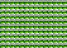 зеленая мозаика Стоковое фото RF