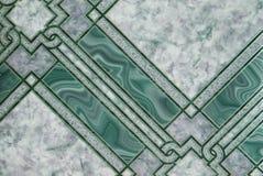 зеленая мраморная картина Стоковая Фотография RF