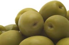 зеленая оливка Стоковые Изображения RF