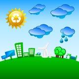 зеленая планета бесплатная иллюстрация