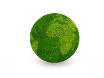 зеленая планета Стоковые Изображения RF