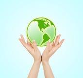 Зеленая планета Стоковое Изображение
