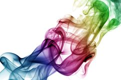 зеленая подсказка дыма Стоковые Фото