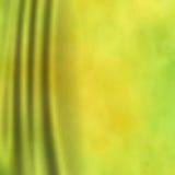 Зеленая предпосылка занавеса Стоковая Фотография RF