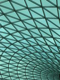 Зеленая предпосылка кривого Стоковая Фотография RF