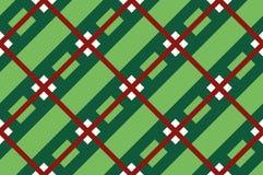 Зеленая предпосылка нашивки Безшовная картина с пересекать раскосные линии, клетку, квадраты также вектор иллюстрации притяжки co иллюстрация вектора
