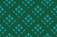 Зеленая предпосылка нашивки Безшовная картина с пересекать раскосные линии, клетку, квадраты также вектор иллюстрации притяжки co бесплатная иллюстрация