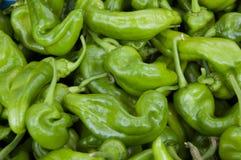 Зеленая предпосылка специи горячего перца стоковая фотография rf