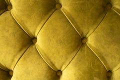 Зеленая предпосылка ткани capitone бархата, decorati ромбовидного узора мебели ткани ретро стиля Chesterfield checkered мягкое tu стоковое фото