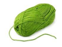 зеленая пряжа Стоковое Изображение RF