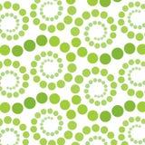 зеленая ретро введенная в моду спираль Стоковое Изображение RF