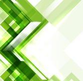 Зеленая самомоднейшая геометрическая предпосылка absract Стоковое фото RF